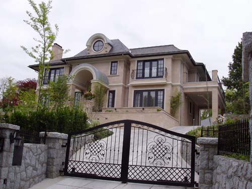Vancouver classic limestone architecture wiedemann for Architect home plans