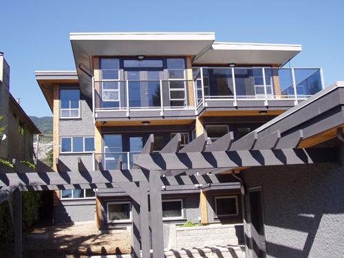 Contemporary West Coast Home Wiedemann Architectural Design