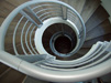 custom spiral staircase architecture
