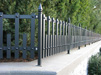 wrought iron fence architecture