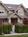 custom vancouver craftsman home entrance view